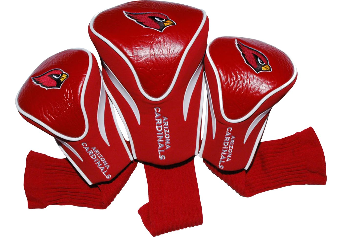 Team Golf Arizona Cardinals 3-Pack Contour Headcovers