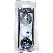 Team Golf Dallas Cowboys Golf Balls – 3 Pack