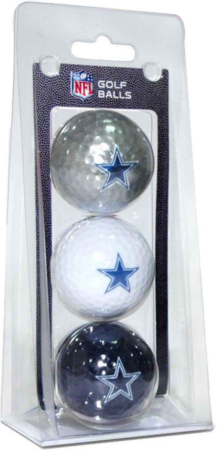 Team Golf Dallas Cowboys Golf Balls - 3 Pack
