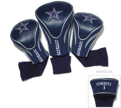 Team Golf Dallas Cowboys Contour Sock Headcovers - 3 Pack