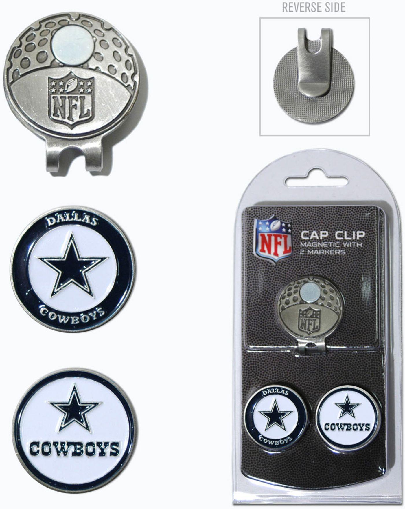 Team Golf Dallas Cowboys Two-Marker Cap Clip