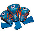 Team Golf Miami Dolphins 3-Pack Contour Headcovers