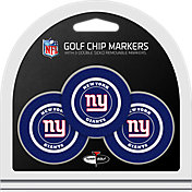 Team Golf New York Giants Poker Chips Ball Markers - 3-Pack