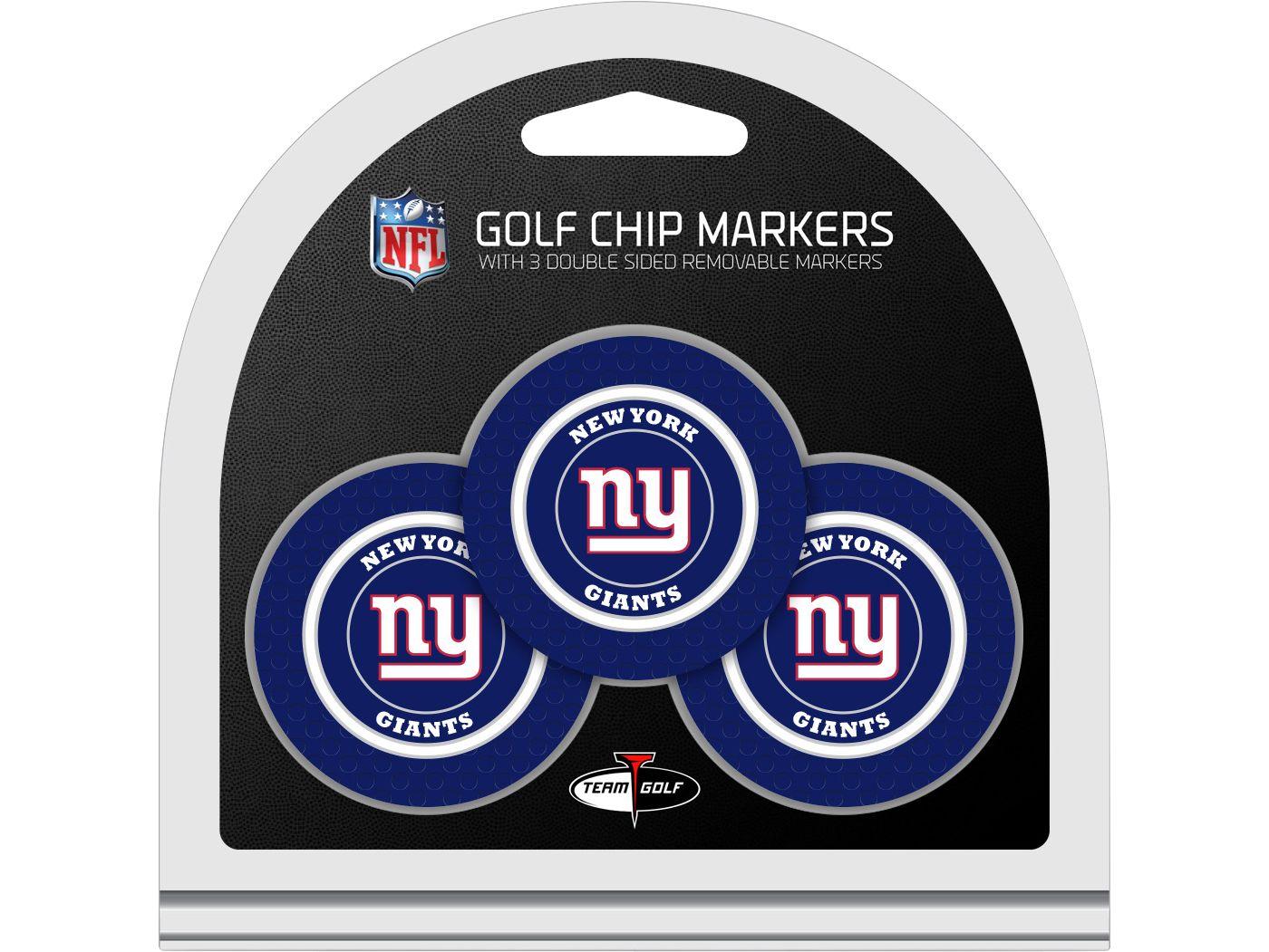 Team Golf New York Giants Golf Chips - 3 Pack