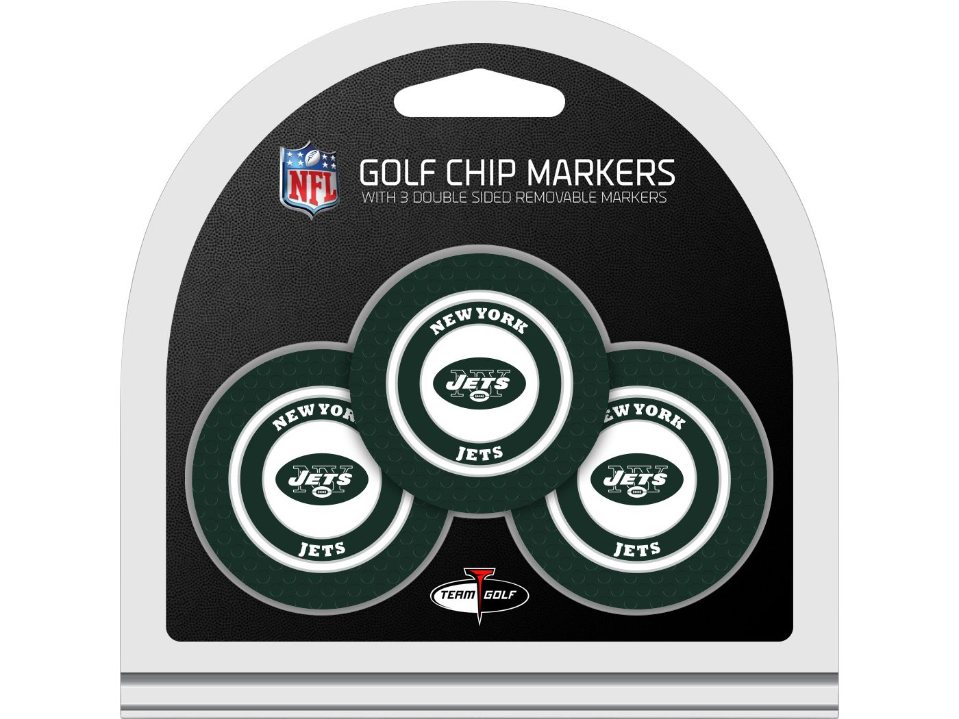 Team Golf New York Jets Golf Chips - 3 Pack