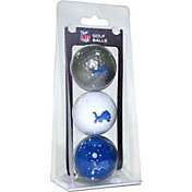 Team Golf Detroit Lions Golf Balls – 3 Pack