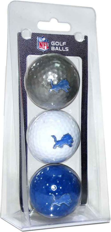Team Golf Detroit Lions Golf Balls - 3 Pack