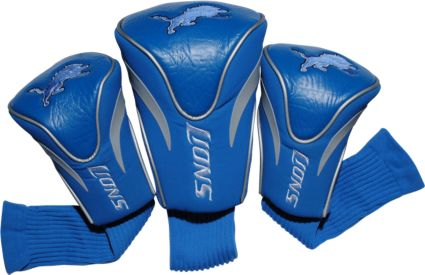 Team Golf Detroit Lions Contour Sock Headcovers - 3 Pack