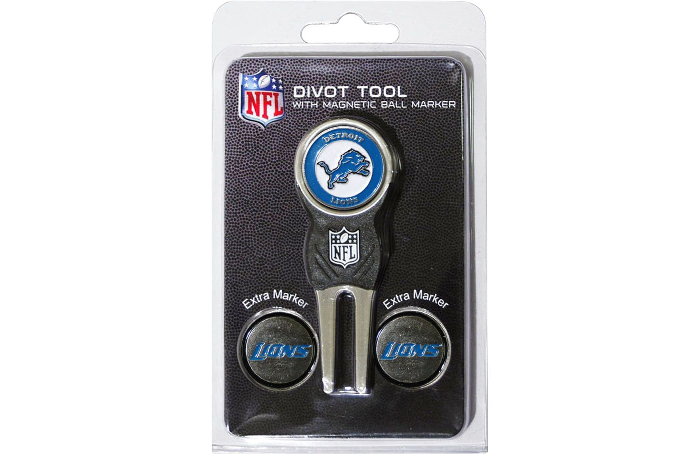 Team Golf Detroit Lions Divot Tool and Marker Set