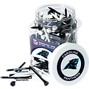 Team Golf Carolina Panthers 175 Count Golf Tee Jar