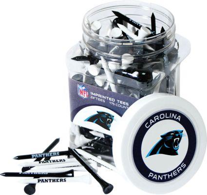 Team Golf NFL Carolina Panthers Tee Jar - 175 Pack