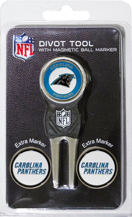 Team Golf Carolina Panthers Divot Tool