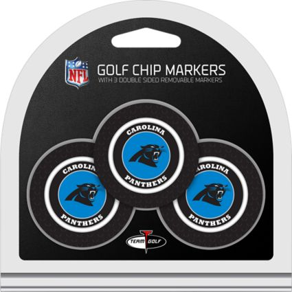 Team Golf Carolina Panthers Golf Chips - 3 Pack