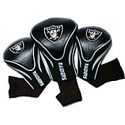 Team Golf Las Vegas Raiders NFL Contour Sock Headcovers - 3 Pack