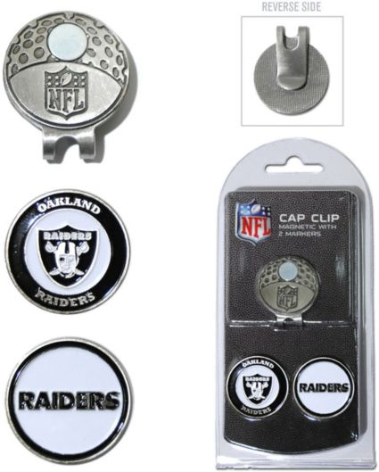 Team Golf Oakland Raiders Cap Clip