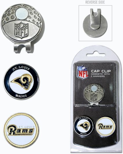 Team Golf St. Louis Rams Two-Marker Cap Clip