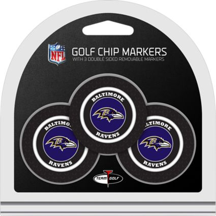 Team Golf Baltimore Ravens Golf Chips - 3 Pack