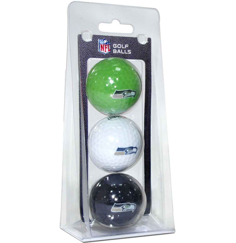 Team Golf Seattle Seahawks Golf Balls – 3 Pack