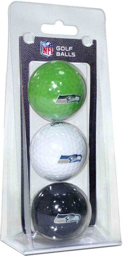 Team Golf Seattle Seahawks Golf Balls - 3 Pack
