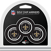 Team Golf New Orleans Saints Poker Chips Ball Markers - 3-Pack