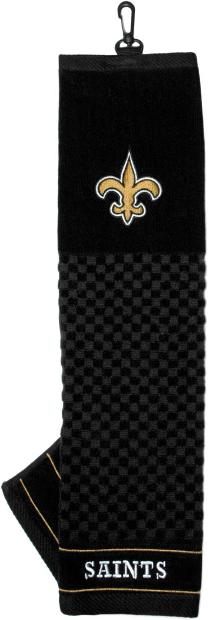 Team Golf New Orleans Saints Embroidered Towel