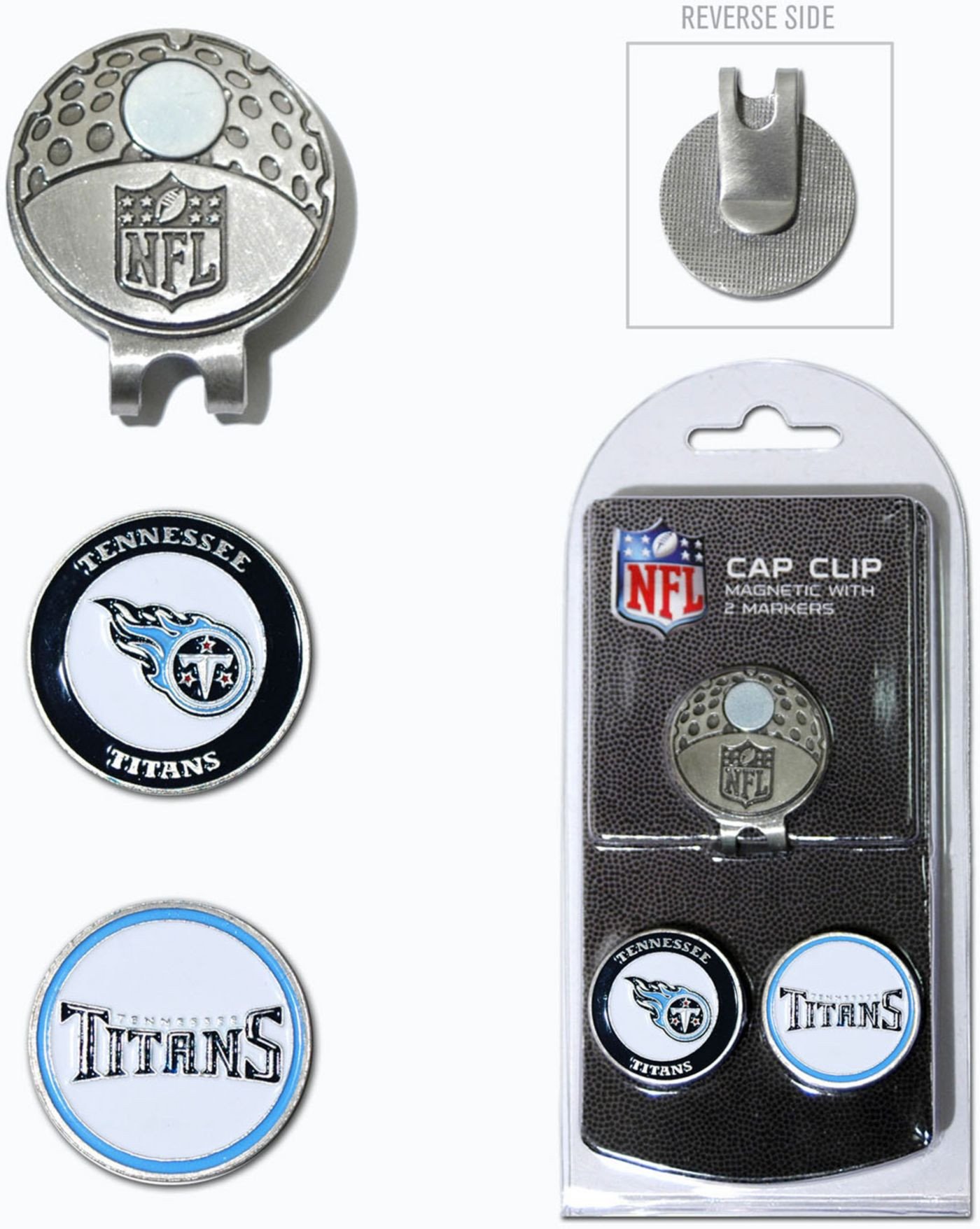 Team Golf Tennessee Titans Cap Clip