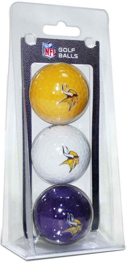 Team Golf Minnesota Vikings Golf Balls - 3 Pack