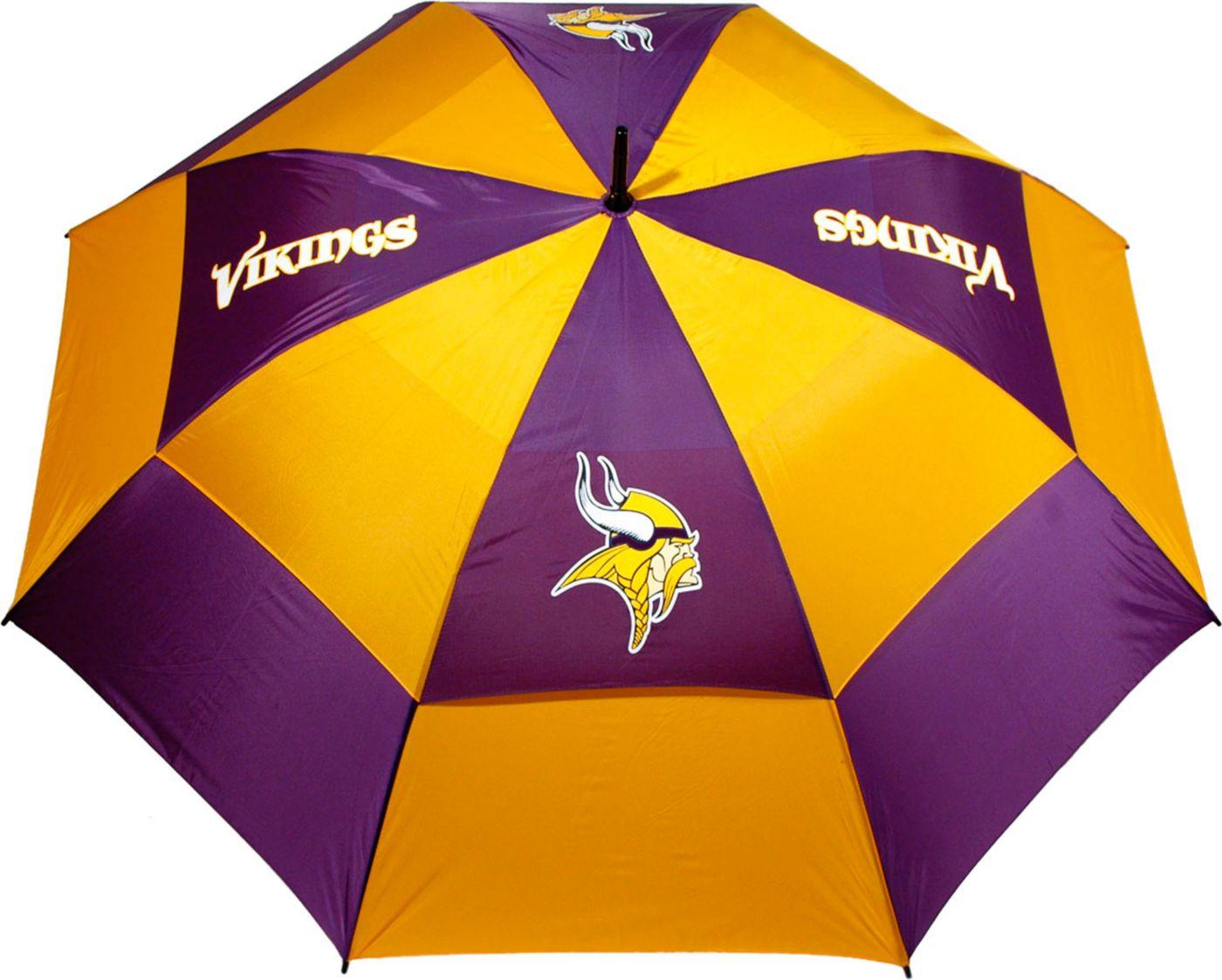 "Team Golf Minnesota Vikings 62"" Double Canopy Umbrella"