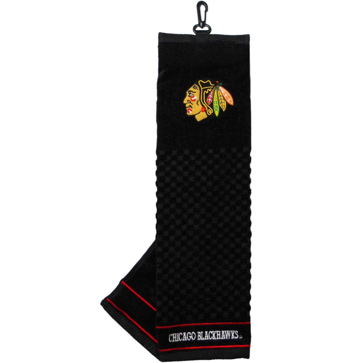 Team Golf Chicago Blackhawks Embroidered Towel