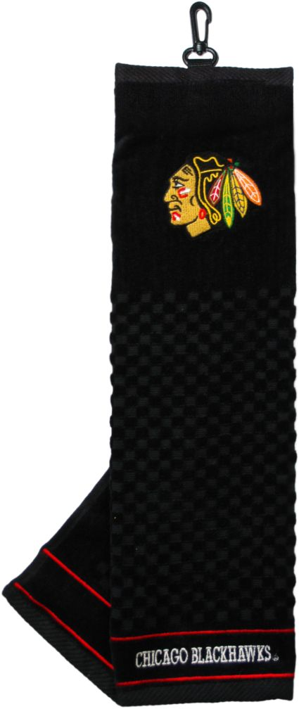 Team Golf Chicago Blackhawks Embroidered Towel
