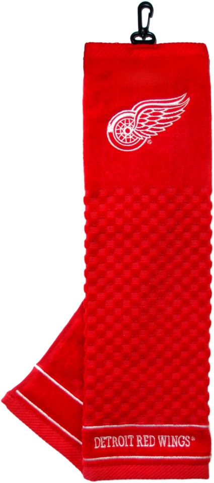 Team Golf Detroit Red Wings Embroidered Towel