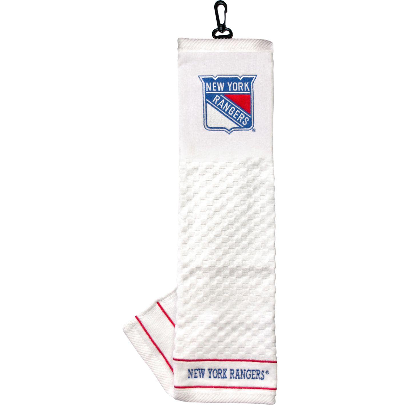 Team Golf New York Rangers Embroidered Towel