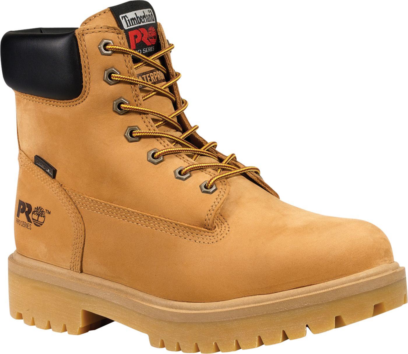 "Timberland PRO Men's Direct Attach 6"" 200g Waterproof Steel Toe Work Boots"
