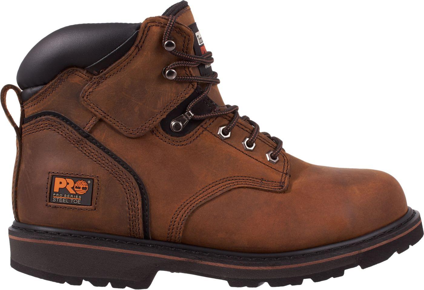 Timberland PRO Men's Pit Boss 6'' Steel Toe Work Boots