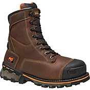 Timberland PRO Men's  8'' Boondock Waterproof 600g Soft Toe Work Boots