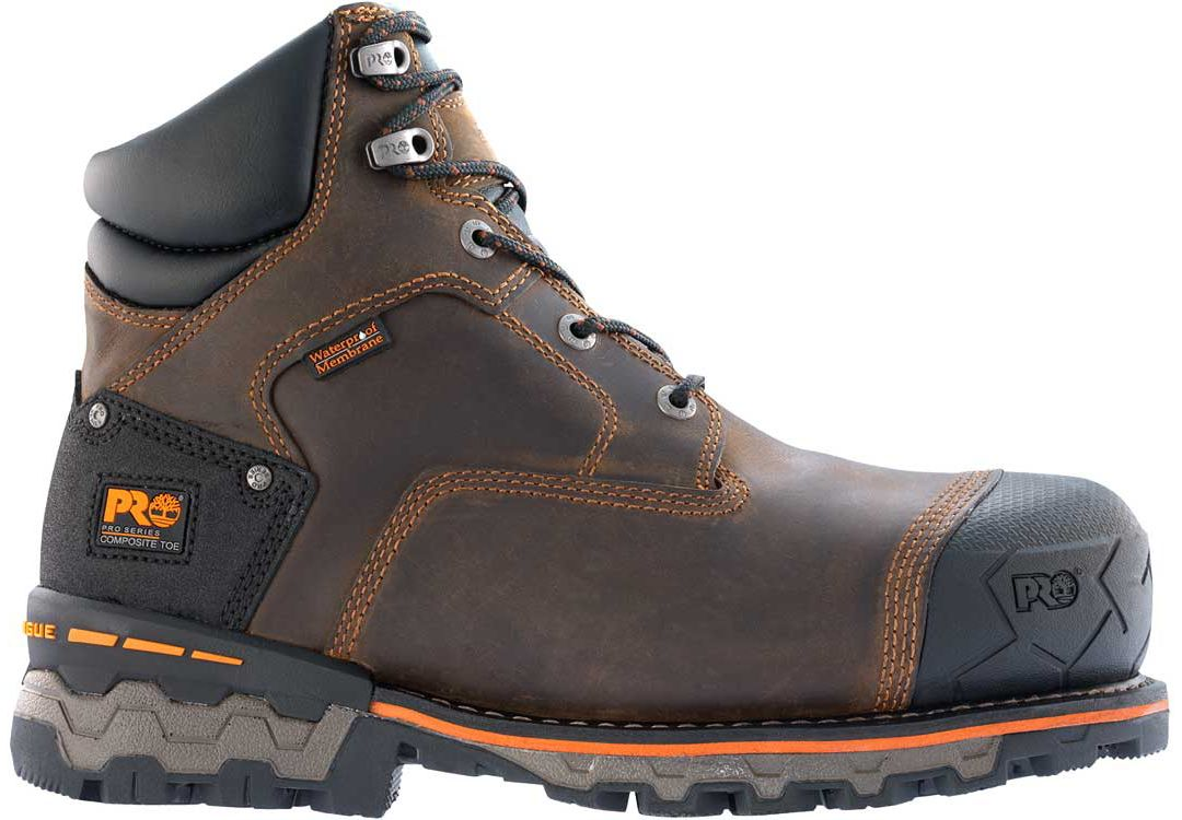 f5e6e4698a3 Timberland PRO Men's Boondock Waterproof Composite Safety Toe Work Boots