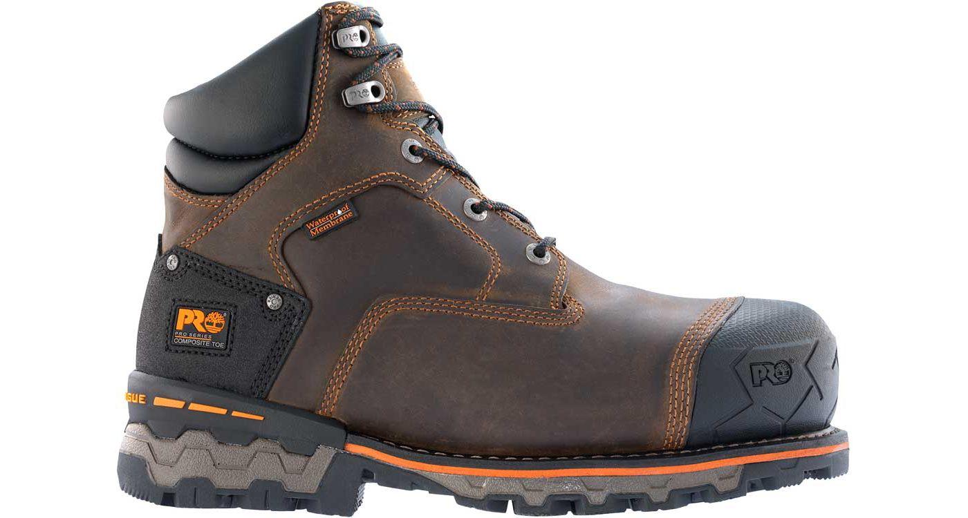 Timberland PRO Men's Boondock Waterproof Composite Safety Toe Work Boots