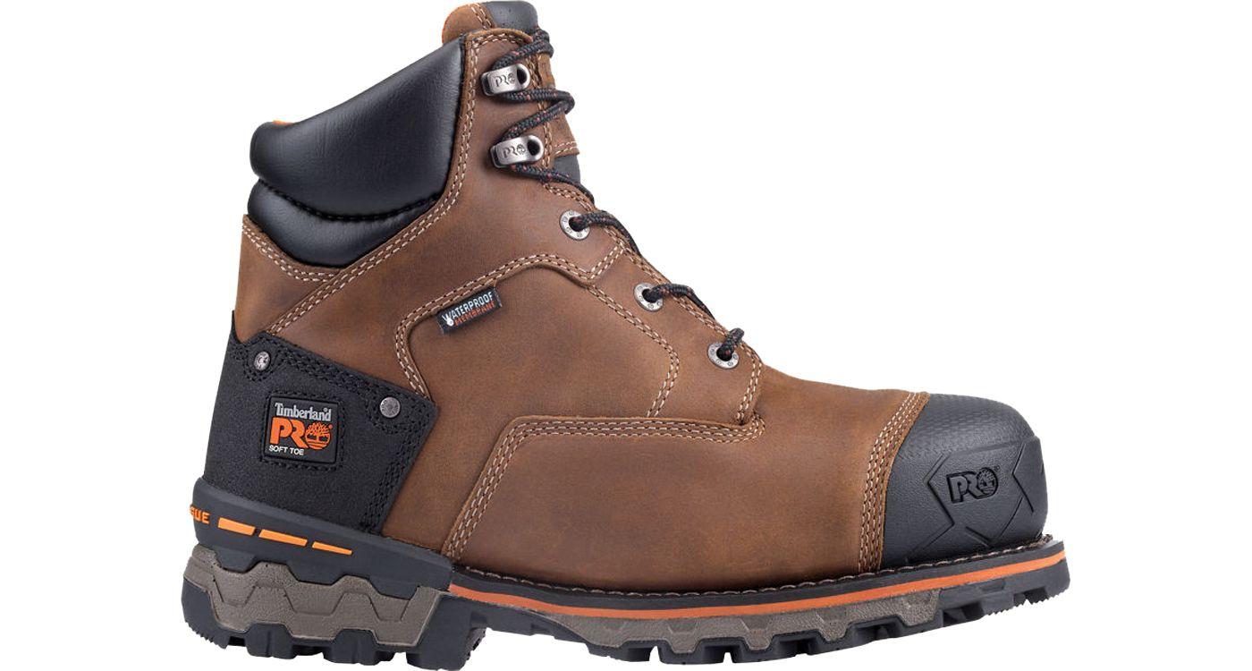 Timberland PRO Men's Boondock 6'' Waterproof Work Boots