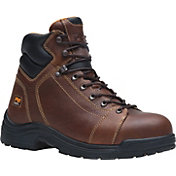 "Timberland PRO Men's TiTAN Lace-to-Toe 6"" Alloy Safety Toe Work Boots"