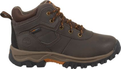 Timberland Kids' Mt. Maddsen Mid Waterproof Hiking Boots