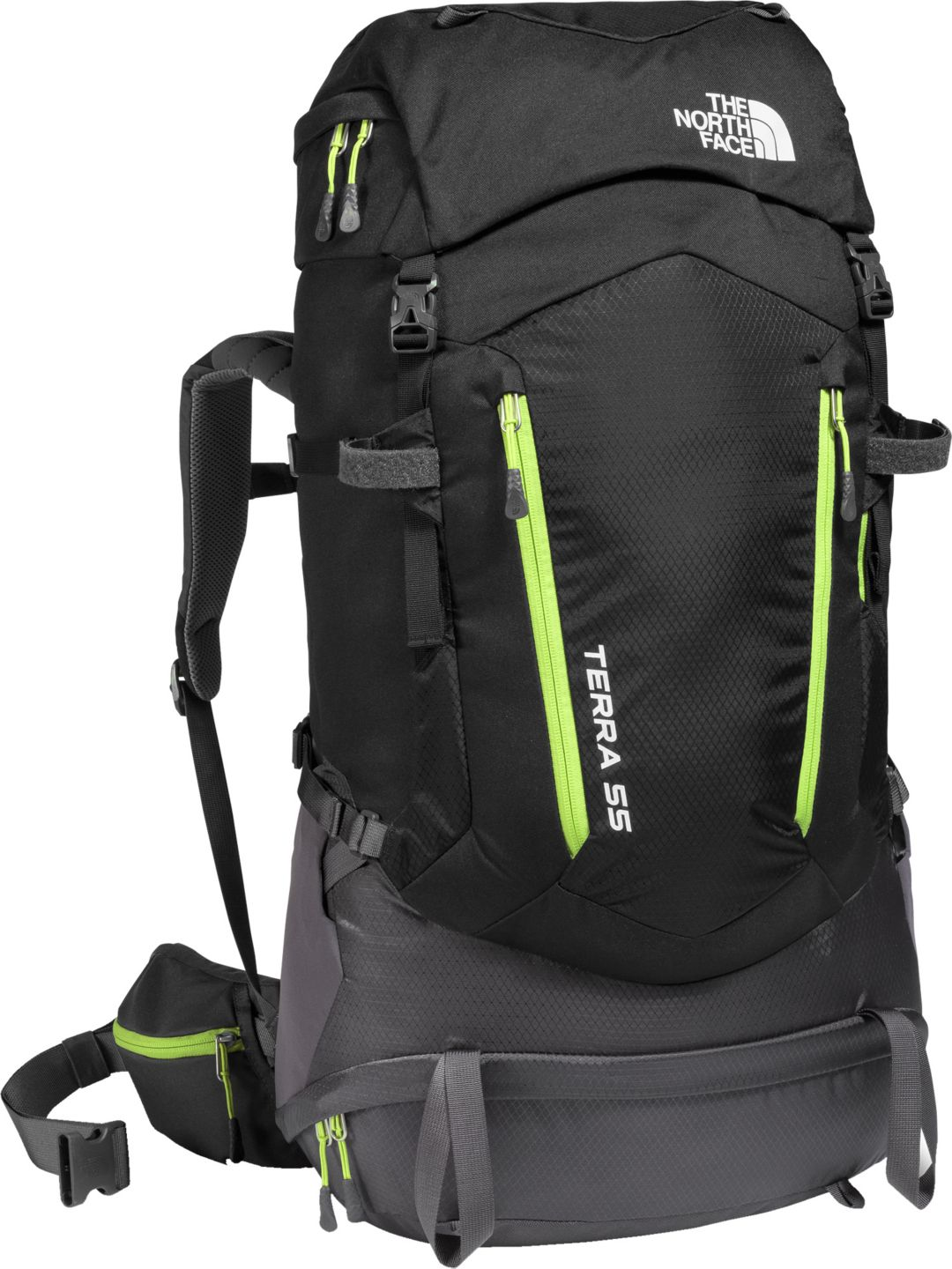 474192770 The North Face Youth Terra 55L Internal Frame Pack - Prior Season