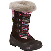 The North Face Kids' Shellista Novelty Lace II 200g Waterproof Winter Boots