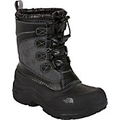 The North Face Kids' Alpenglow Lace Waterproof Winter Boots