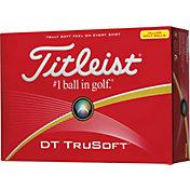 Titleist DT TruSoft Yellow Golf Balls - Prior Generation