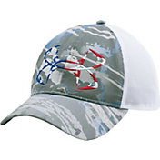 Under Armour Men's Fish Hook Camo Trucker Cap