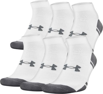 28c1b6704f73d Under Armour Resistor Low Cut Athletic Socks 6 Pack | DICK'S ...