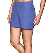 Under Armour Women's Links Printed Shorty Golf Shorts