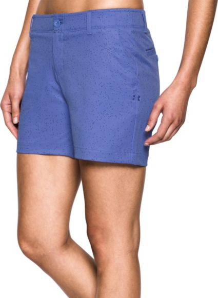 Under Armour Women's Links Printed Shorty