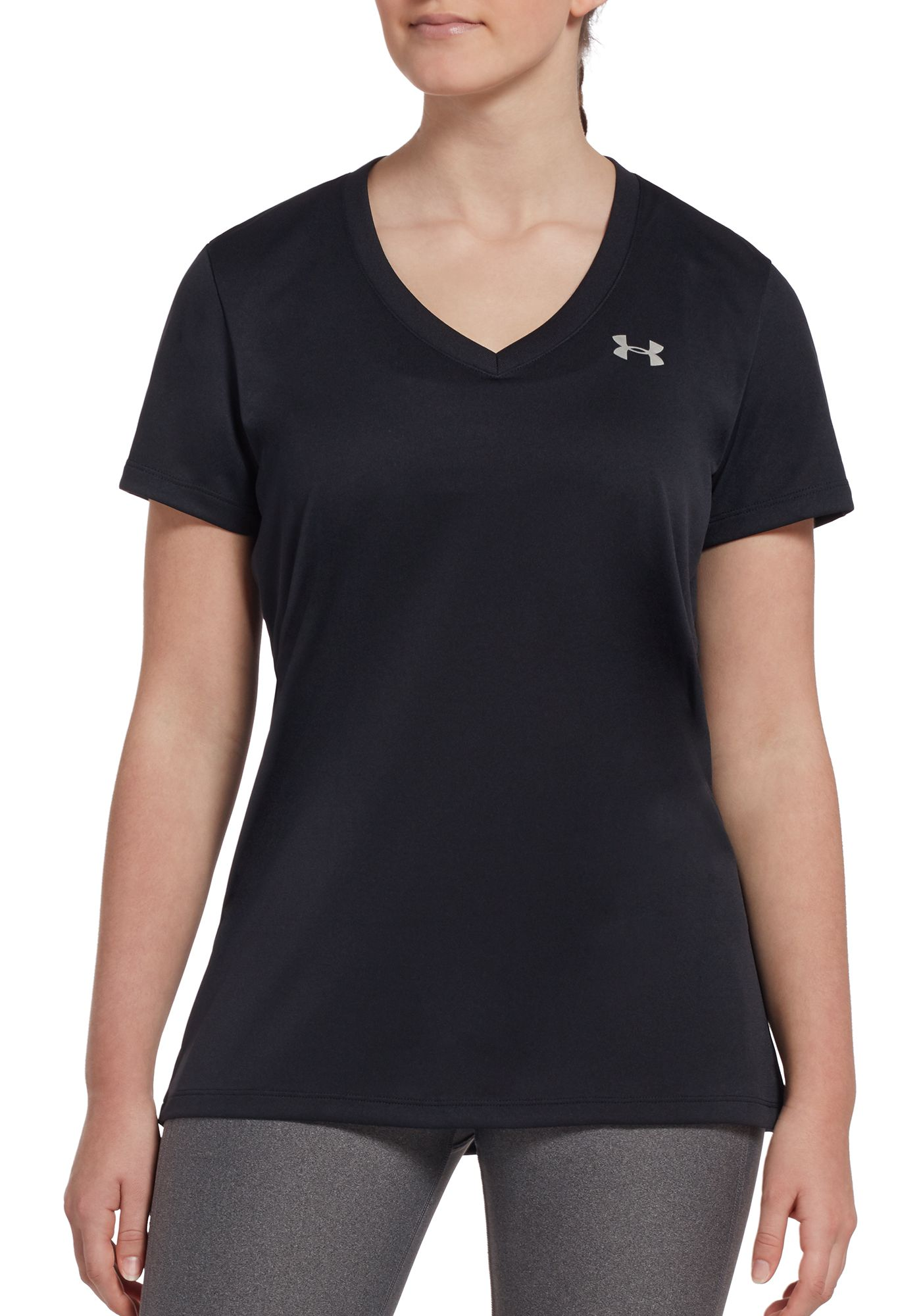 Under Armour Women's Tech V-Neck Short Sleeve Shirt
