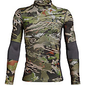 Under Armour Youth Scent Control Tevo Mock Neck Long Sleeve Shirt